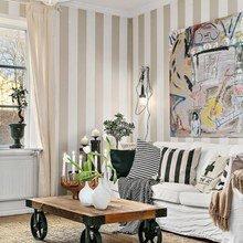 Фотография: Гостиная в стиле Скандинавский, Эклектика, Декор интерьера, Квартира, Декор, Мебель и свет, Белый, Бежевый – фото на InMyRoom.ru