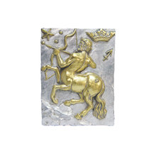 Панно Знак зодиака СТРЕЛЕЦ (серебряно-золотой)