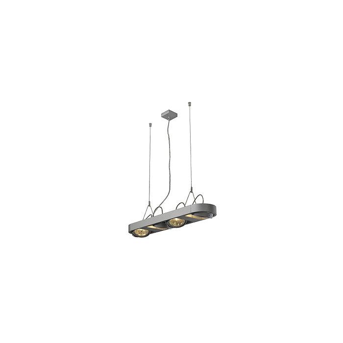 Светильник подвесной SLV Aixlight R Long серебристый