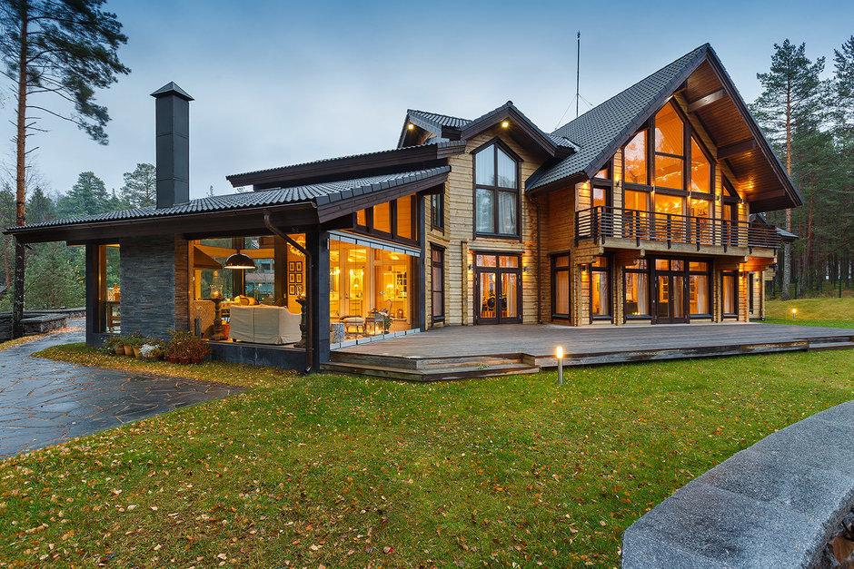 Фотография: Архитектура в стиле , Классический, Дом, Дома и квартиры, Проект недели, Дача – фото на InMyRoom.ru