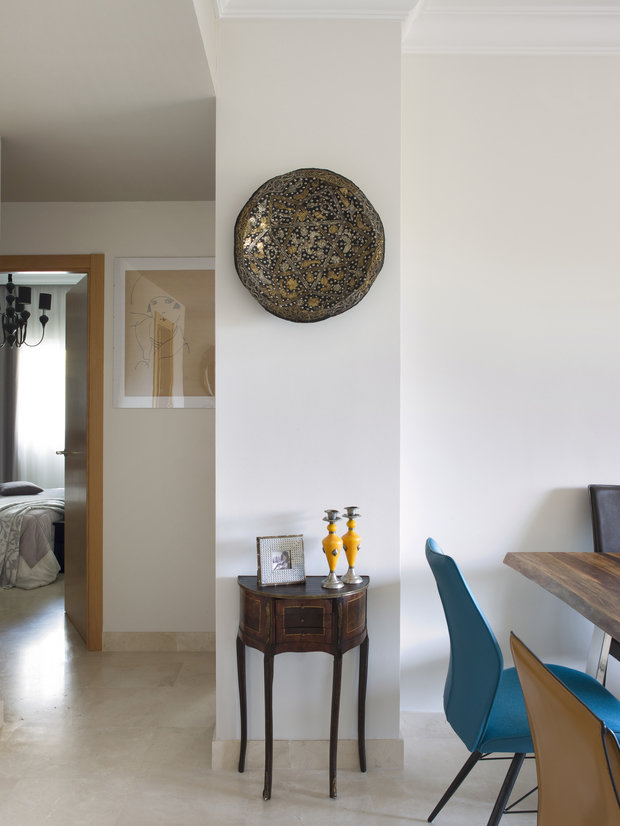 Фотография: Декор в стиле Эклектика, Квартира, Испания, Проект недели, Ксения Турик – фото на InMyRoom.ru