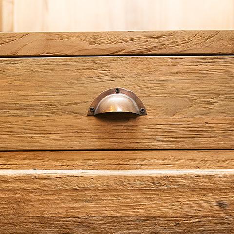 Шкаф санто из массива тикового дерева