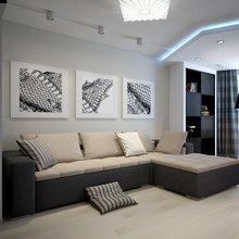 Фото из портфолио Дизайн-проект квартиры для молодой пары – фотографии дизайна интерьеров на INMYROOM