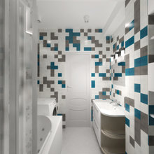 Фото из портфолио Арт - интерьер 60 кв. м – фотографии дизайна интерьеров на INMYROOM