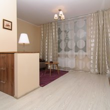 Фото из портфолио 1-но комнатная квартира 44.10m² Элегантный беж – фотографии дизайна интерьеров на INMYROOM