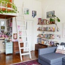 Фото из портфолио Крошечная миниатюрная студия площадью 27 кв.м – фотографии дизайна интерьеров на INMYROOM