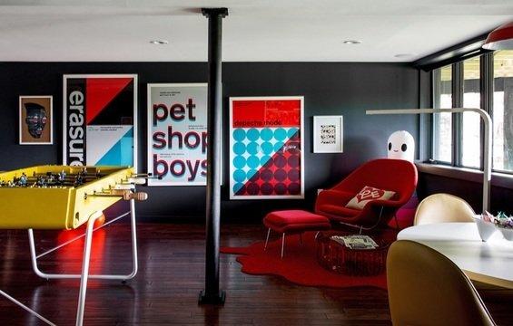 Фотография: Гостиная в стиле Лофт, Современный, Декор интерьера, Дом, Дома и квартиры – фото на InMyRoom.ru