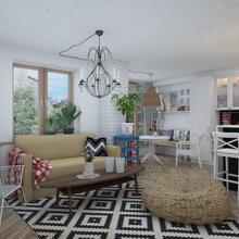 Фотография: Гостиная в стиле Скандинавский, Квартира, Дома и квартиры, IKEA – фото на InMyRoom.ru