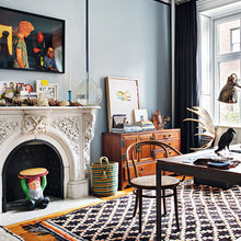 Фото из портфолио Богемная квартира в Нью-Йорке – фотографии дизайна интерьеров на InMyRoom.ru