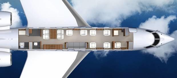 Помогите с дизайном интерьера самолета