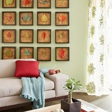 Фотография: Гостиная в стиле Кантри, Декор интерьера, Дом, Декор дома, Стены, Постеры – фото на InMyRoom.ru