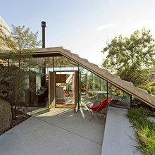 """Фото из портфолио """"Пристройка"""" с панорамной крышей в Норвегии – фотографии дизайна интерьеров на InMyRoom.ru"""