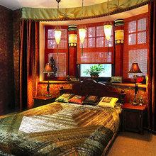 Фотография: Спальня в стиле Восточный, Декор интерьера, Декор дома, Японский – фото на InMyRoom.ru