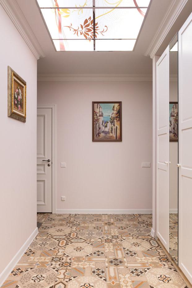 Фотография: Прихожая в стиле Прованс и Кантри, Квартира, Проект недели, Балашиха, Монолитный дом, 2 комнаты, 60-90 метров, Анна Елина – фото на INMYROOM