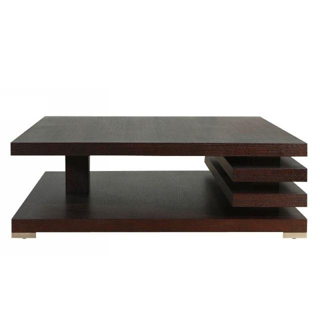 Журнальный столик Milano из натуральный шпона дуба