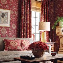Фотография: Гостиная в стиле Восточный, Декор интерьера, Декор дома, Обои – фото на InMyRoom.ru