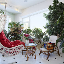 Фото из портфолио Интерьер загородного дома в стиле Фьюжн – фотографии дизайна интерьеров на INMYROOM