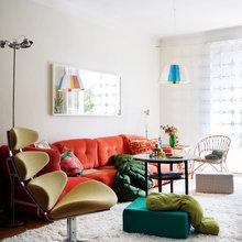 Фото из портфолио Цвет, как поэзия ремонта, определяет душевное состояние интерьера – фотографии дизайна интерьеров на INMYROOM
