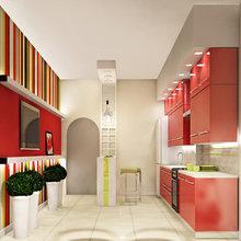Фото из портфолио  яркая кухня – фотографии дизайна интерьеров на InMyRoom.ru
