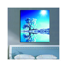 Дизайнерская картина на холсте: Морозный полдень