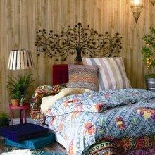 Фотография: Спальня в стиле Кантри, Современный, Эклектика, Интерьер комнат – фото на InMyRoom.ru
