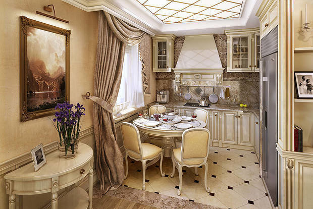 Фотография: Кухня и столовая в стиле Классический, Декор интерьера, Декор, Советы, антитренды – фото на InMyRoom.ru