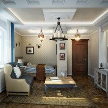 Фото из портфолио Дизайн 2-х этажного коттеджа под Москвой. – фотографии дизайна интерьеров на InMyRoom.ru