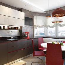 Фото из портфолио Дизайн трехкомнатной квартиры, Речной вокзал – фотографии дизайна интерьеров на InMyRoom.ru