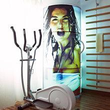 Фотография: Прочее в стиле Современный, Кухня и столовая, Квартира, Цвет в интерьере, Дома и квартиры, Белый, Минимализм – фото на InMyRoom.ru