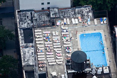 Фотография: Гостиная в стиле Современный, Эко, Дома и квартиры, Городские места, Нью-Йорк – фото на InMyRoom.ru