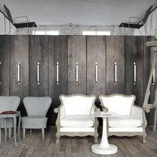 Фотография: Гостиная в стиле Кантри, Квартира, Дома и квартиры, Интерьеры звезд, Париж, Паола Навоне – фото на InMyRoom.ru