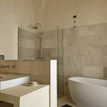 Фотография: Ванная в стиле Минимализм, Дома и квартиры, Городские места, Отель, Бассейн – фото на InMyRoom.ru