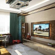 Фото из портфолио Интерьер квартиры в ар-деко. Визуализация. – фотографии дизайна интерьеров на INMYROOM