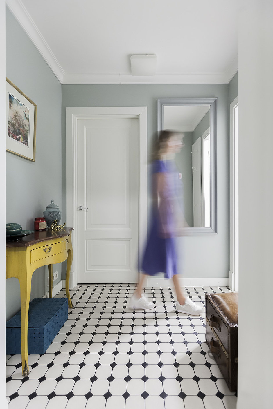 Фотография:  в стиле , Квартира, Проект недели, Москва, Герой InMyRoom, 3 комнаты, 60-90 метров, Монолитно-кирпичный – фото на InMyRoom.ru