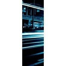 "Интерьерная модульная картина на стену ""Ночная трасса"""