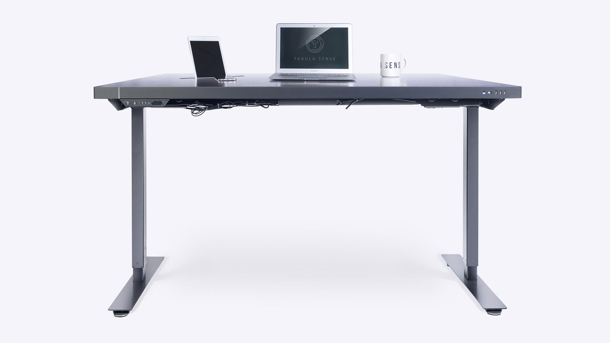 Стол стандартный Tabula Sense Smart Desk Mech черный