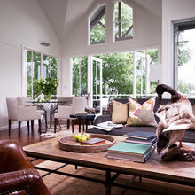 Фотография: Гостиная в стиле Скандинавский, Дом, Австралия, Дома и квартиры – фото на InMyRoom.ru