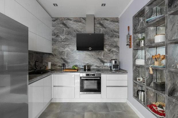 Фотография: Кухня и столовая в стиле Современный, Советы, Lorena – фото на INMYROOM