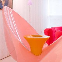 Фотография: Мебель и свет в стиле Хай-тек, Квартира, Дома и квартиры, Обои, Нью-Йорк, Карим Рашид, Неон – фото на InMyRoom.ru