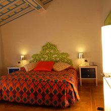 Фотография: Спальня в стиле Эклектика, Италия, Дома и квартиры, Городские места, Отель, Ампир, Барокко – фото на InMyRoom.ru