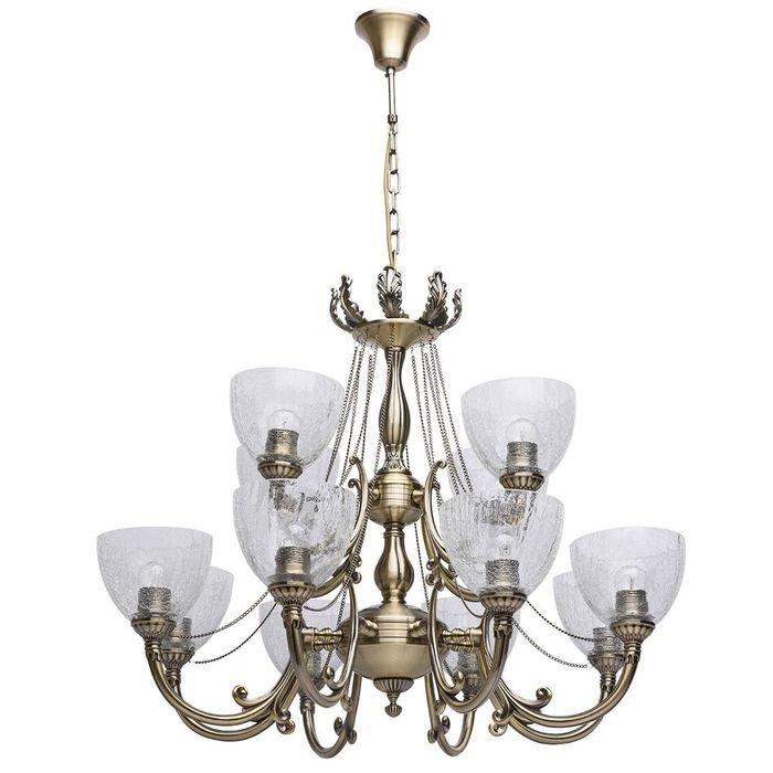Подвесная люстра MW-Light Аманда в классическом стиле