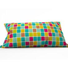 Декоративная подушка: Цветная мозаика