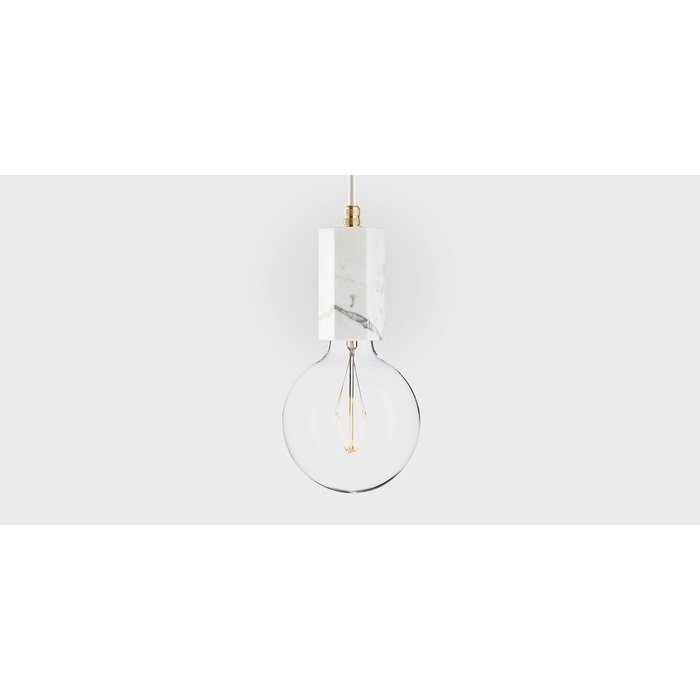 Подвесной светильник Marmor Trom bianco