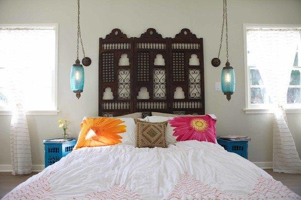 Фотография: Декор в стиле Восточный, Спальня, Интерьер комнат – фото на InMyRoom.ru