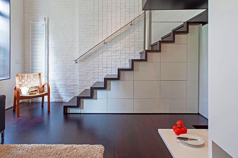 Фотография:  в стиле Современный, Квартира, Дома и квартиры, Перепланировка – фото на InMyRoom.ru