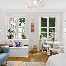 Фото из портфолио Мини-квартира: 23 квадратных метра с отдельной кухней – фотографии дизайна интерьеров на InMyRoom.ru
