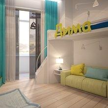 Фото из портфолио Дизайн-проект детской комнаты – фотографии дизайна интерьеров на InMyRoom.ru