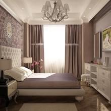 Фотография: Спальня в стиле Классический, Современный, Квартира, Цвет в интерьере, Дома и квартиры, Белый, Красный, Серый – фото на InMyRoom.ru
