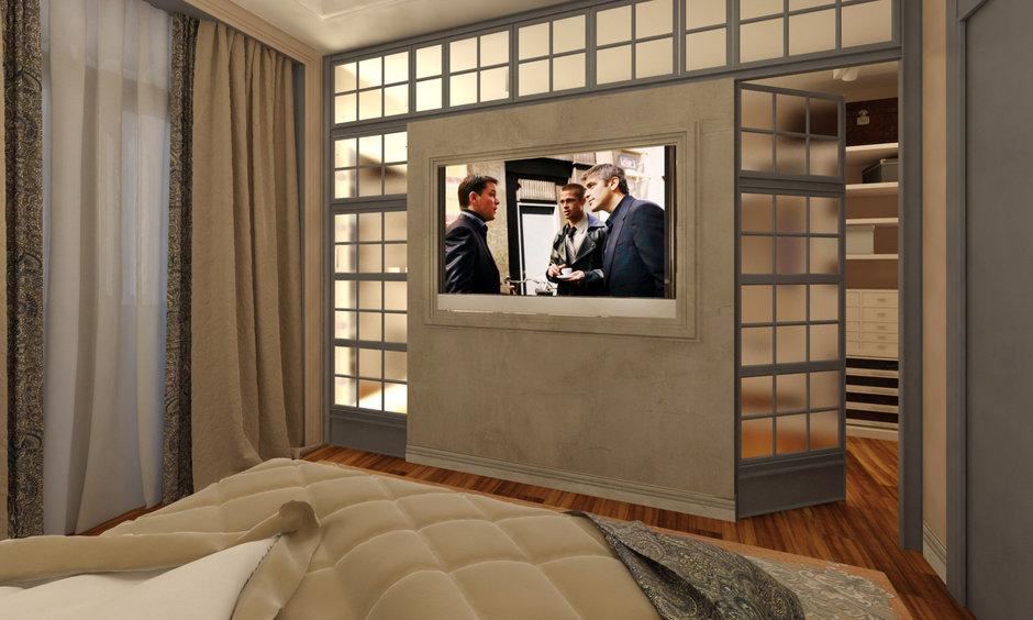 Фотография: Спальня в стиле Восточный, Квартира, Дома и квартиры, Проект недели, Переделка – фото на InMyRoom.ru