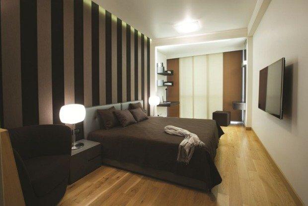 Фотография: Спальня в стиле Современный, Квартира, Дома и квартиры, Проект недели, Перепланировка – фото на InMyRoom.ru